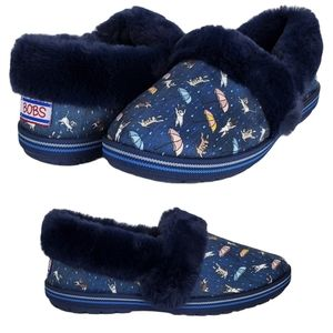 New Skechers bobs too cozy movie night slippers